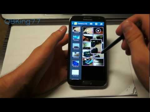 Samsung Galaxy Note 2 S Pen Review. Tips and Tricks