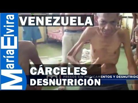 PRESOS DESNUTRIDOS EN VENEZUELA - HAMBRE EN VENEZUELA