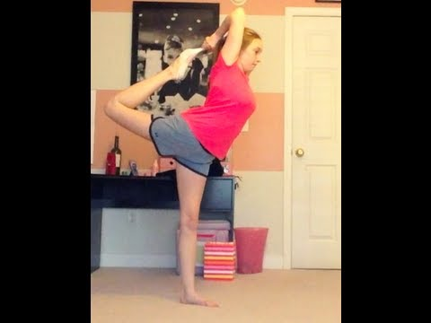 HOW TO DO A SCORPION FOR BEGINNERS