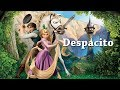 Despacito   Luis Fonsi And Daddy Yankee | Animated | Minions | Tangled |