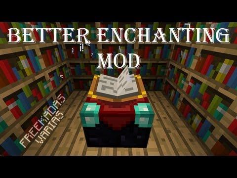 Minecraft Mods: Better Enchanting MEJOR SISTEMA DE ENCANTAMIENTOS Y MAS