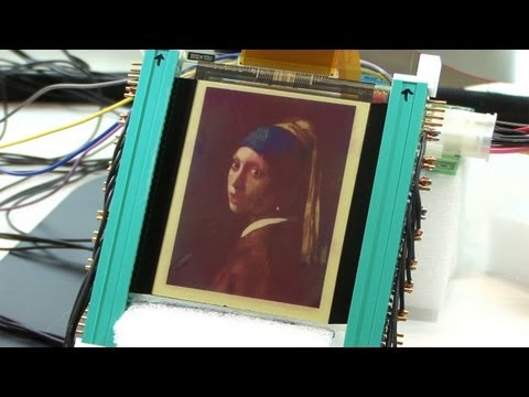 Bright, full color e-paper under development by Ricoh #DigInfo
