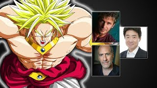"Characters Voice Comparison  - ""Broly"""