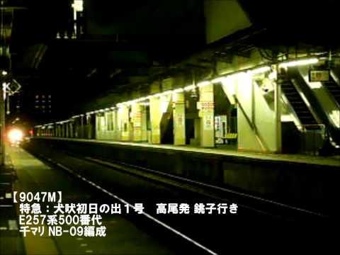 2013年元旦・(成田線)団体臨時列車ダイジェスト