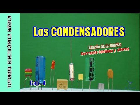 Tutorial Electrónica Básica. Cap 04. Condensadores + Corriente continua y alterna