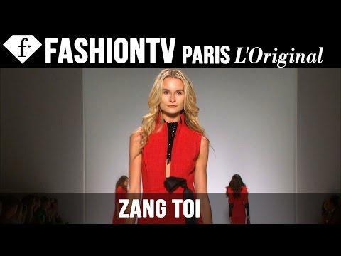 Zang Toi Spring summer 2015   London Fashion Week   Fashiontv video