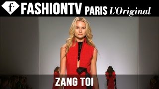 Zang Toi Spring/Summer 2015 | London Fashion Week | FashionTV