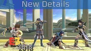 Super Smash Bros. Nintendo Switch - E3 2018 New Details Trailer [HD]