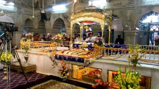 Gurbani at Gurudwara Sees Ganj Sahib, December 4, 2011