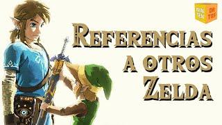 ZELDA: BREATH OF THE WILD - Referencias a otros juegos de Zelda