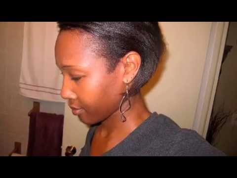 JAMAICAN BLACK CASTOR OIL (before/after pics) ~ GROW BACK THINNING EDGES. HAIRLINE