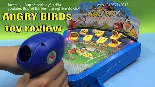 Kids toys AnGRY BiRDs toy review