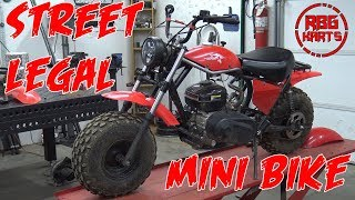 Street Legal Mini Bike Build Ep 1 ~ Mini Bike Monday