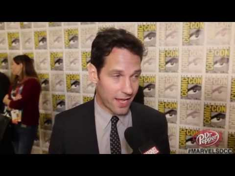 After the Panel: Marvel's Ant-Man Paul Rudd on Joining the Marvel Family at Comic-Con 2014