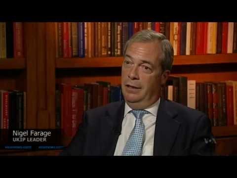 UK's EU Referendum - Nigel Farage and Roger Helmer, Voice of America, Washington D.C., July 2015