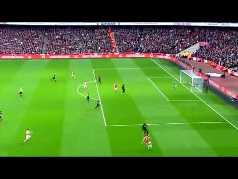 Mesut Özil v Liverpool - 4/4/15: