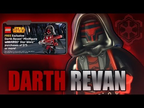 LEGO Star Wars : DARTH REVAN - Exclusive Minifigure Review