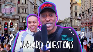 Asking Awkward Questions | In SHEPHERDS BUSH With Yung Filly