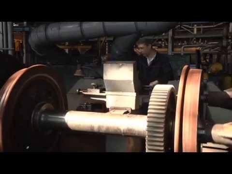 РЖД-ТВ, 14 октября 2013. 60-летие Астраханского тепловозоремонтного завода.