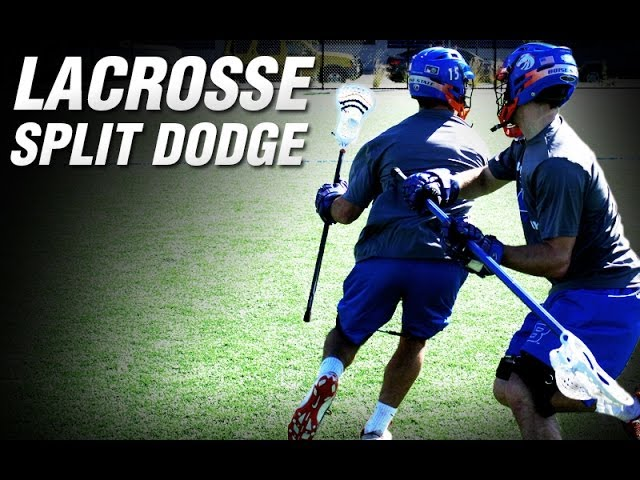 Kbands Lacrosse Split Dodge | Lacrosse Speed Drills | Lacrosse Leg Resistance Bands