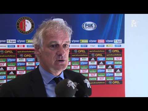 Fred Rutten na afloop van Feyenoord - PSV