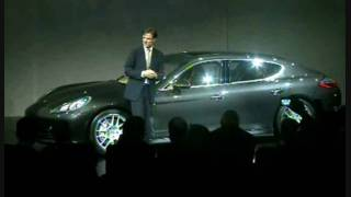 Porsche Panamera Unveiling 6/6 - The Moment of Truth. HD