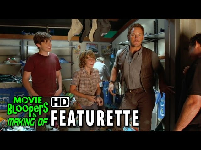 Jurassic World (2015) Featurette - Chris Pratt's Jurassic Journals: Slap Happy