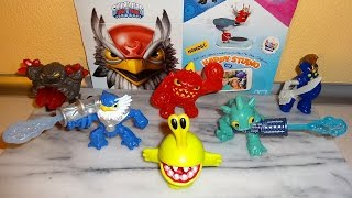 2014 Skylanders Trap Team Toys Happy Meal McDonalds Full Set European Collection