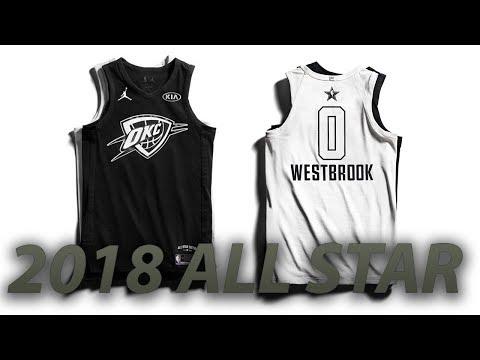 NBA 2018 All-Star Jerseys REVEALED! Black & White?