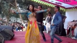 lungi dance - bd girl funny dance in a park