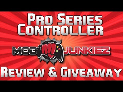 ModJunkiez Pro Series Controller Review & Giveaway