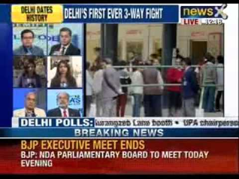Delhi polls 2013 : Voting picks up as 34% turnout recorded till 1 PM - NewsX