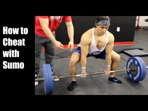 How to Cheat at the Deadlift: Top Tips for Sumo Pulling