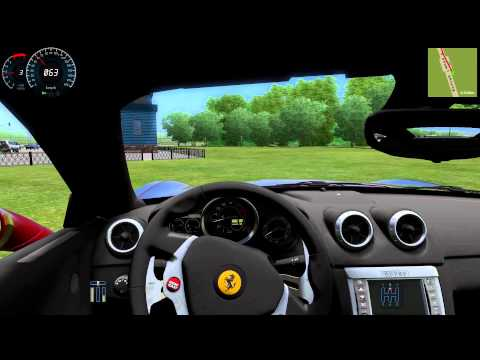 #068 Let's Play City Car Driving - Ferrari California [Deutsch] [Full-HD]