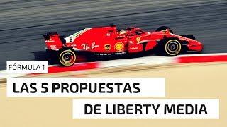 LAS PROPUESTAS DE LIBERTY MEDIA PARA LA FÓRMULA 1