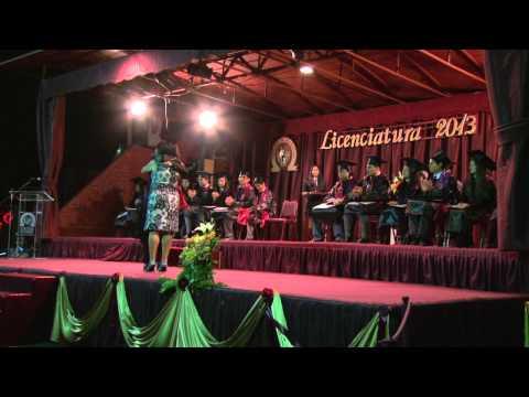 Video Licenciatura Hector Castillo Morales Colegio Eagle School 2013 - 12/20/2013