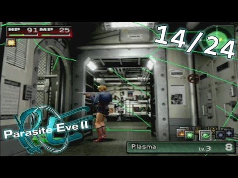 Parasite Eve 2 -- (14/24) WARNING: Smoking Section May Be Hazardous to Your Health