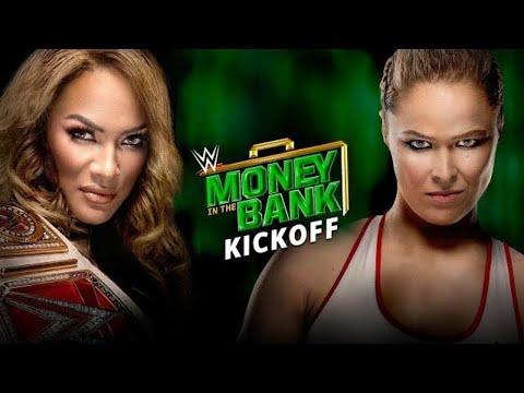 WWE Money in the Bank Kickoff: June 17, 2018 thumbnail