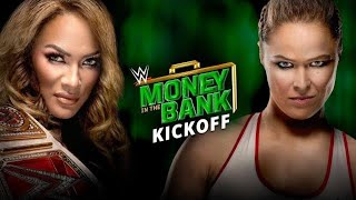 WWE Money in the Bank Kickoff June 17 2018