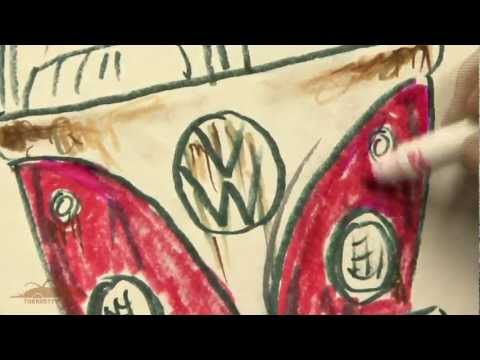 The Rusty VW: How to sketch a VW BUS.