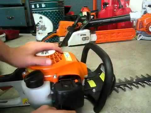 new stihl hs45 hedge trimmer youtube. Black Bedroom Furniture Sets. Home Design Ideas
