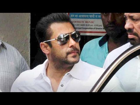 Salman back in Mumbai, completes bail formalities
