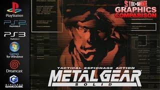 Metal Gear Solid | Graphics Comparison | ( PS1, PS2, PS3, PC, Dreamcast, Gamecube )