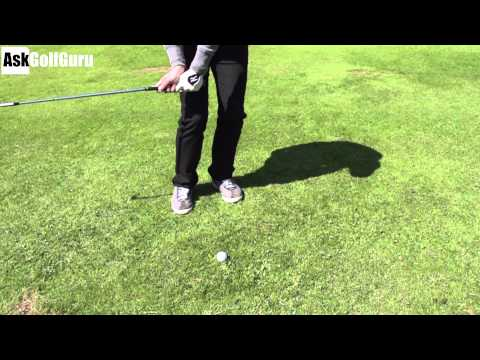 Golf Lob Shot Drill
