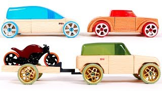 Automoblox Toy Car Playset for Kids | Learn Colors with Yippee Toys