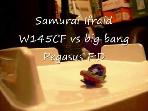 Samurai Ifraid W145CF vs big bang Pegasus F:D 2