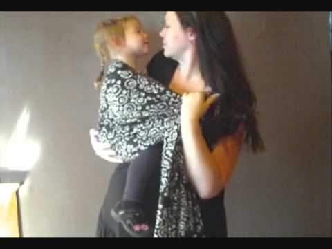 Toddler Back Carries with Ring Sling