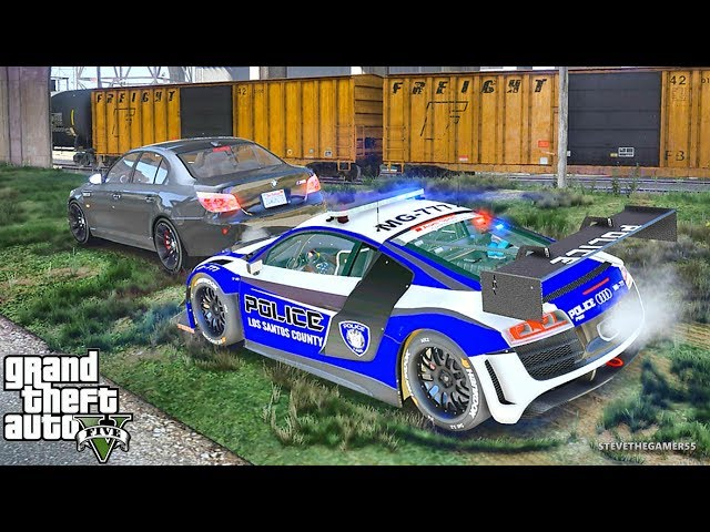 GTA 5 MODS LSPDFR 758 - SUPERCAR PATROL !!! (GTA 5 REAL LIFE PC MOD)