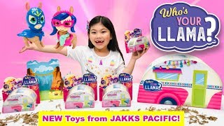 NEW Who's Your Llama 🦙 Collectible Toys from Jakks Pacific! Unboxing Series 1 Mystery Packs Llamas