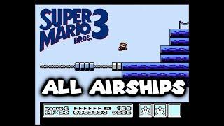Super Mario Bros. 3 - All Airships (No Damage)